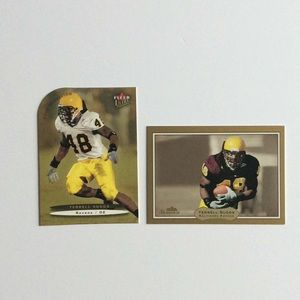2 Terrell Suggs Rookie cards Baltimore Ravens #ed